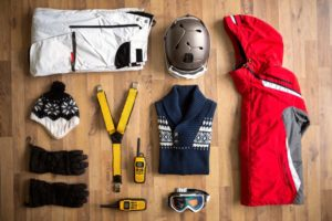 Winter sorts gear