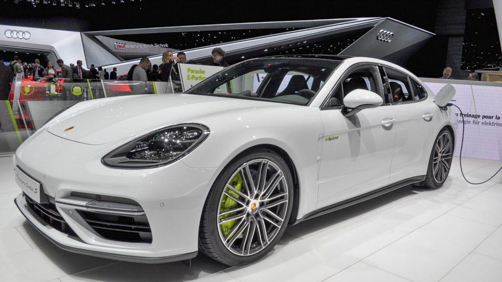 2018 White Porsche Panamera
