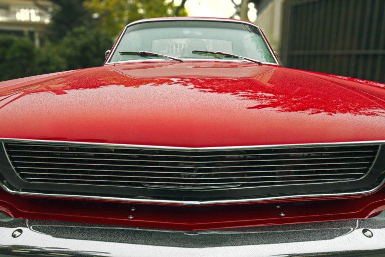 vintage muscle car