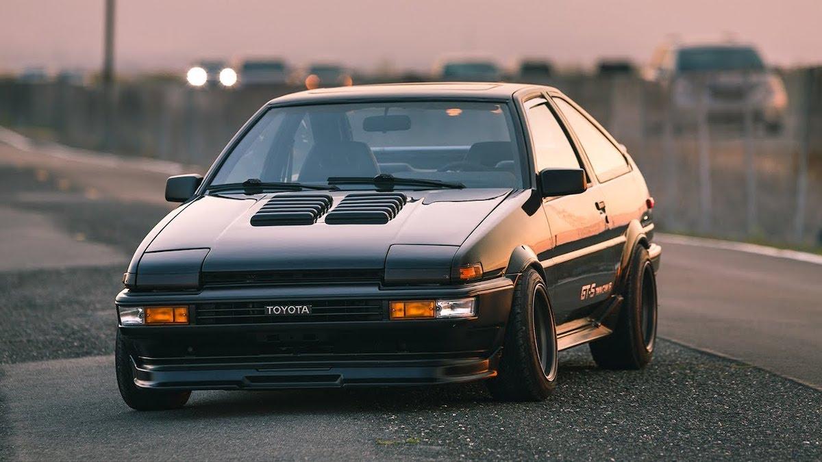 Toyota AE86 car